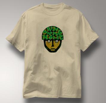 Peace T Shirt Bring Em Home TAN Bring Em Home T Shirt