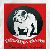 Bulldog T Shirt Expo WHITE Dog T Shirt Expo T Shirt