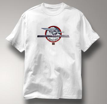 Burlington Route T Shirt Zephyr West Wind WHITE Railroad T Shirt Train T Shirt Zephyr West Wind T Shirt