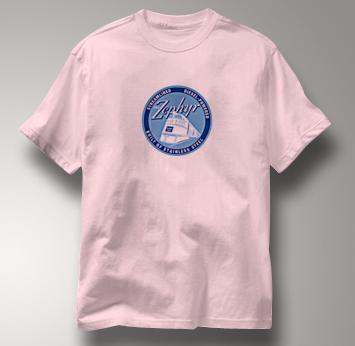 Burlington Route T Shirt Streamlined Diesel PINK Railroad T Shirt Train T Shirt Streamlined Diesel T Shirt