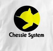 Chessie System T Shirt Chessie WHITE Railroad T Shirt Train T Shirt B&O Museum T Shirt Chessie T Shirt