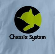 Chessie System T Shirt Chessie BLUE Railroad T Shirt Train T Shirt B&O Museum T Shirt Chessie T Shirt
