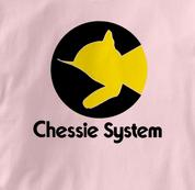 Chessie System T Shirt Chessie PINK Railroad T Shirt Train T Shirt B&O Museum T Shirt Chessie T Shirt