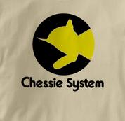Chessie System T Shirt Chessie TAN Railroad T Shirt Train T Shirt B&O Museum T Shirt Chessie T Shirt