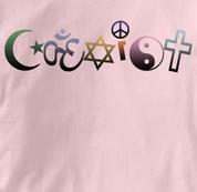 Coexist T Shirt Aum Peace Antiwar Religion Tolerance PINK Peace T Shirt Aum Peace Antiwar Religion Tolerance T Shirt