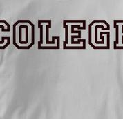 Colege T Shirt GRAY Peace T Shirt