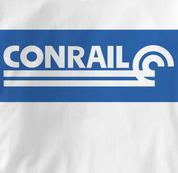 Conrail T Shirt Railway Logo WHITE Railroad T Shirt Train T Shirt Railway Logo T Shirt