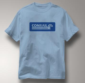 Conrail T Shirt Railway Logo BLUE Railroad T Shirt Train T Shirt Railway Logo T Shirt