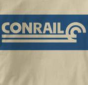Conrail T Shirt Railway Logo TAN Railroad T Shirt Train T Shirt Railway Logo T Shirt
