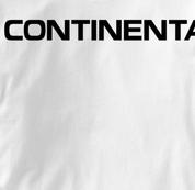 Continental Airlines T Shirt WHITE Aviation T Shirt