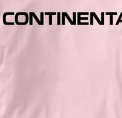 Continental Airlines T Shirt PINK Aviation T Shirt