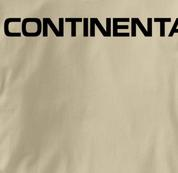 Continental Airlines T Shirt TAN Aviation T Shirt