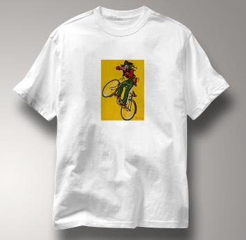 Bicycle T Shirt Dupin WHITE Cycling T Shirt Dupin T Shirt