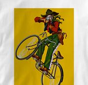 Bicycle T Shirt Dupin WHITE Cycling T Shirt Dupin T Shirt