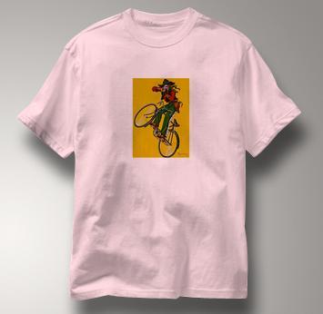 Bicycle T Shirt Dupin PINK Cycling T Shirt Dupin T Shirt