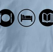 Reading T Shirt Eat Sleep Play BLUE Obsession T Shirt Eat Sleep Play T Shirt