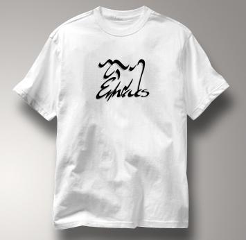 Emacs T Shirt Unix Editor Logo WHITE Computer T Shirt Unix Editor Logo T Shirt
