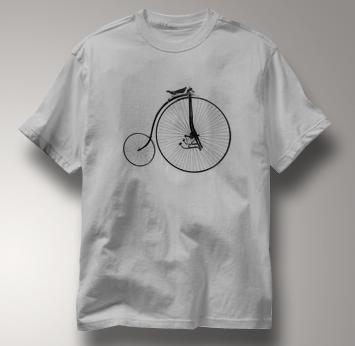 Bicycle T Shirt Facile 1880 GRAY Cycling T Shirt Facile 1880 T Shirt
