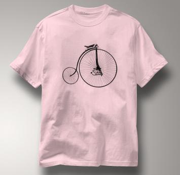 Bicycle T Shirt Facile 1880 PINK Cycling T Shirt Facile 1880 T Shirt