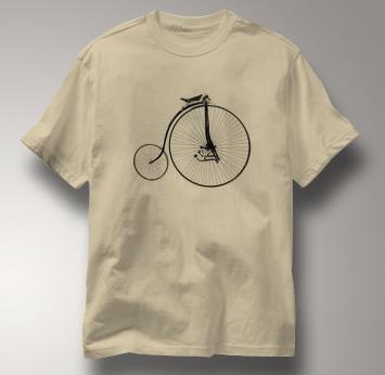 Bicycle T Shirt Facile 1880 TAN Cycling T Shirt Facile 1880 T Shirt