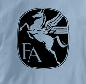 Fairchild T Shirt Vintage BLUE Aviation T Shirt Vintage T Shirt