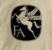 Fairchild T Shirt Vintage TAN Aviation T Shirt Vintage T Shirt