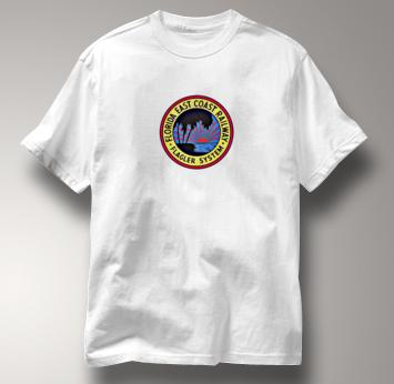 Florida East Coast T Shirt FEC Flagler System WHITE Railroad T Shirt Train T Shirt FEC Flagler System T Shirt