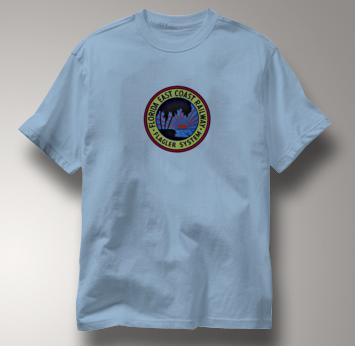 Florida East Coast T Shirt FEC Flagler System BLUE Railroad T Shirt Train T Shirt FEC Flagler System T Shirt