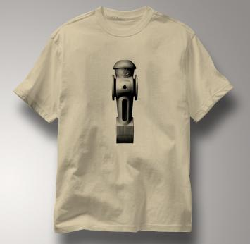 Foosball T Shirt Guy BW TAN Guy BW T Shirt
