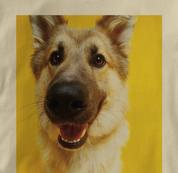 German Shepherd T Shirt Portrait TAN Dog T Shirt Portrait T Shirt