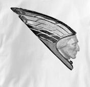 Indian Motorcycle T Shirt Vintage Mudguard WHITE Vintage Mudguard T Shirt
