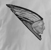 Indian Motorcycle T Shirt Vintage Mudguard GRAY Vintage Mudguard T Shirt