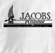 jacobs T Shirt Vintage WHITE Aviation T Shirt Vintage T Shirt