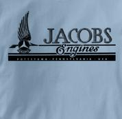 jacobs T Shirt Vintage BLUE Aviation T Shirt Vintage T Shirt