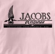 jacobs T Shirt Vintage PINK Aviation T Shirt Vintage T Shirt