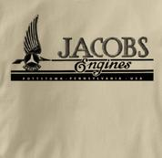 jacobs T Shirt Vintage TAN Aviation T Shirt Vintage T Shirt