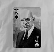Poker T Shirt GRAY Texas Holdem T Shirt Kojak T Shirt