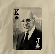 Poker T Shirt TAN Texas Holdem T Shirt Kojak T Shirt