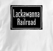 Lackawanna Railroad T Shirt Vintage WHITE Train T Shirt Vintage T Shirt