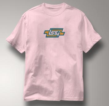 Lake Superior and Ishpeming T Shirt LS&I PINK Railroad T Shirt Train T Shirt LS&I T Shirt