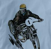 Motorcycle T Shirt Motor Guy 1 BLUE Cycling T Shirt Motor Guy 1 T Shirt