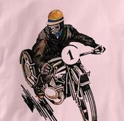Motorcycle T Shirt Motor Guy 1 PINK Cycling T Shirt Motor Guy 1 T Shirt