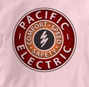 Pacific Electric Railway T Shirt Vintage PINK Railroad T Shirt Train T Shirt Vintage T Shirt