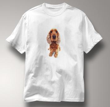 Poodle T Shirt Portrait WHITE Dog T Shirt Portrait T Shirt