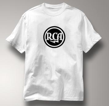 RCA T Shirt Classic Lightning Logo WHITE Gear T Shirt Classic Lightning Logo T Shirt