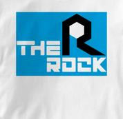 Rock Island T Shirt The Rock WHITE Railroad T Shirt Train T Shirt The Rock T Shirt