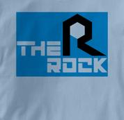 Rock Island T Shirt The Rock BLUE Railroad T Shirt Train T Shirt The Rock T Shirt