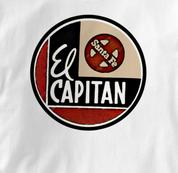 Santa Fe T Shirt El Capitan WHITE Railroad T Shirt Train T Shirt El Capitan T Shirt