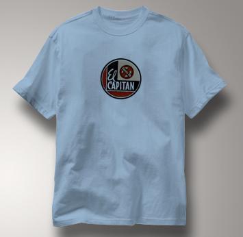 Santa Fe T Shirt El Capitan BLUE Railroad T Shirt Train T Shirt El Capitan T Shirt