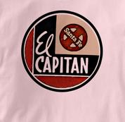 Santa Fe T Shirt El Capitan PINK Railroad T Shirt Train T Shirt El Capitan T Shirt